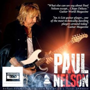 Paul Nelson CD Cover