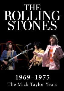 The Rolling Stones, The Mick Taylor Years (DVD Cover)